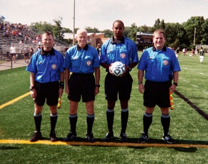 2012 Boys State Semifinals at Westfield HS - Ref Crew