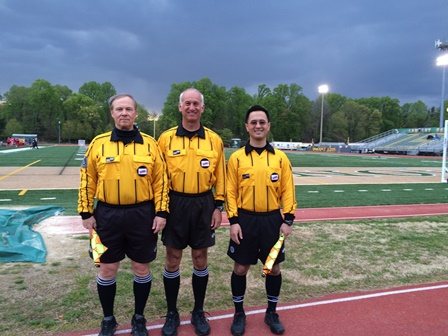 CSOA Referee Crew - Boys Regular Season Match - April 27, 2015