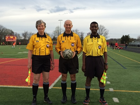 CSOA Referee Crew - Regular Season Match - March 31, 2016