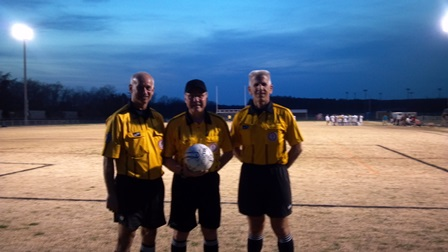 Spring Soccer - Stonewall Jackson HS Ref Crew