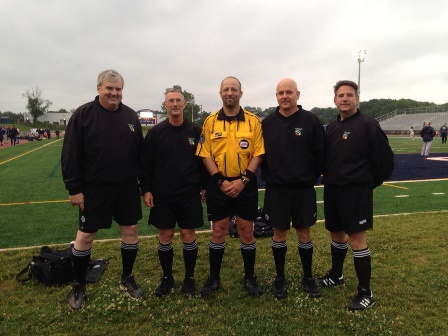 CSOA Referee Crew - Boys Regional Playoff - June 3, 2015