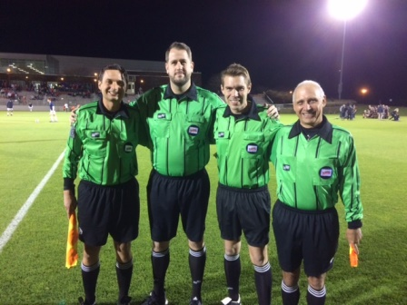 CSOA Referee Crew - WCAC Boys Final - November 5, 2016