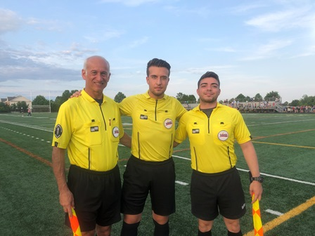 CSOA Referee Crew - Boys Regional Playoff