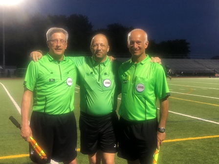 CSOA Referee Crew - Girls Playoff Game